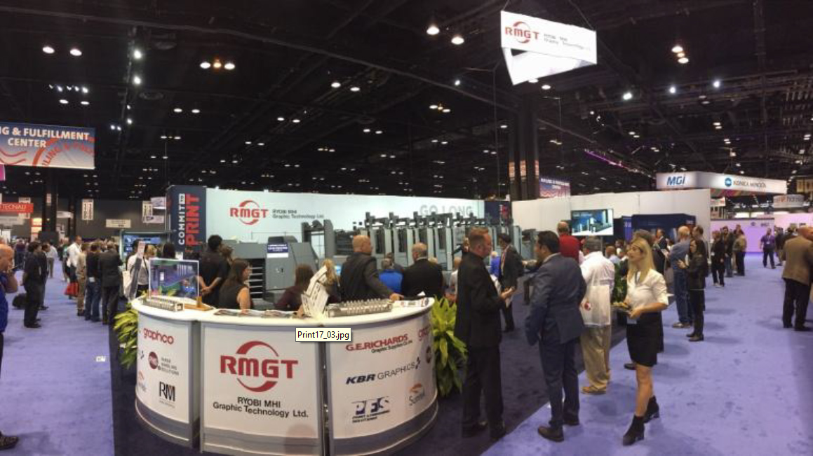 Big Success at PRINT 17, Chicago, IL – September 10-14, 2017